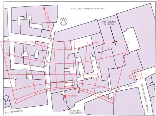 Augustus Sundial map