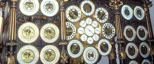Astronomical clockof Besancon (detail)
